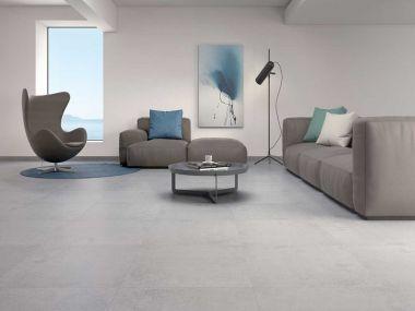 Blaze Argent Matt Glazed Porcelain Floor Tile - 608 x 608mm