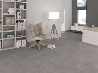 Blaze Marengo Matt Glazed Porcelain Floor Tile - 608 x 608mm
