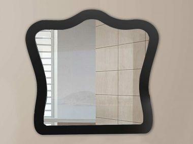 Black Angelique Mirror - 800 x 750mm