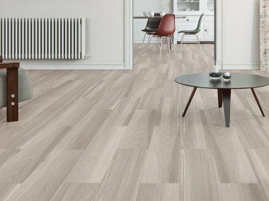Tibet Perla Grey Matt Ceramic Floor Tile - 600 x 200mm