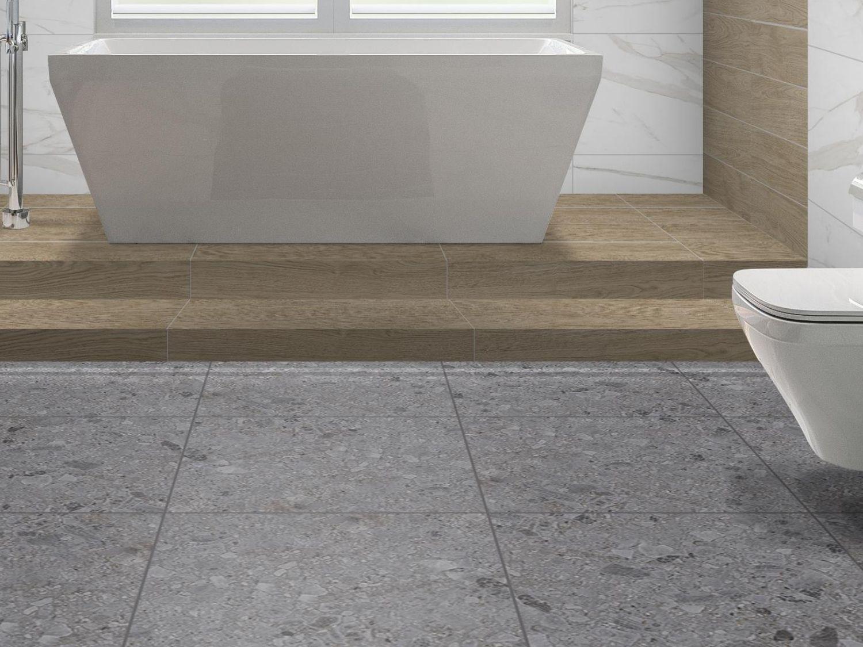 Matt Glazed Porcelain Floor Tile, Is Glazed Porcelain Tile Good For Bathroom Floors
