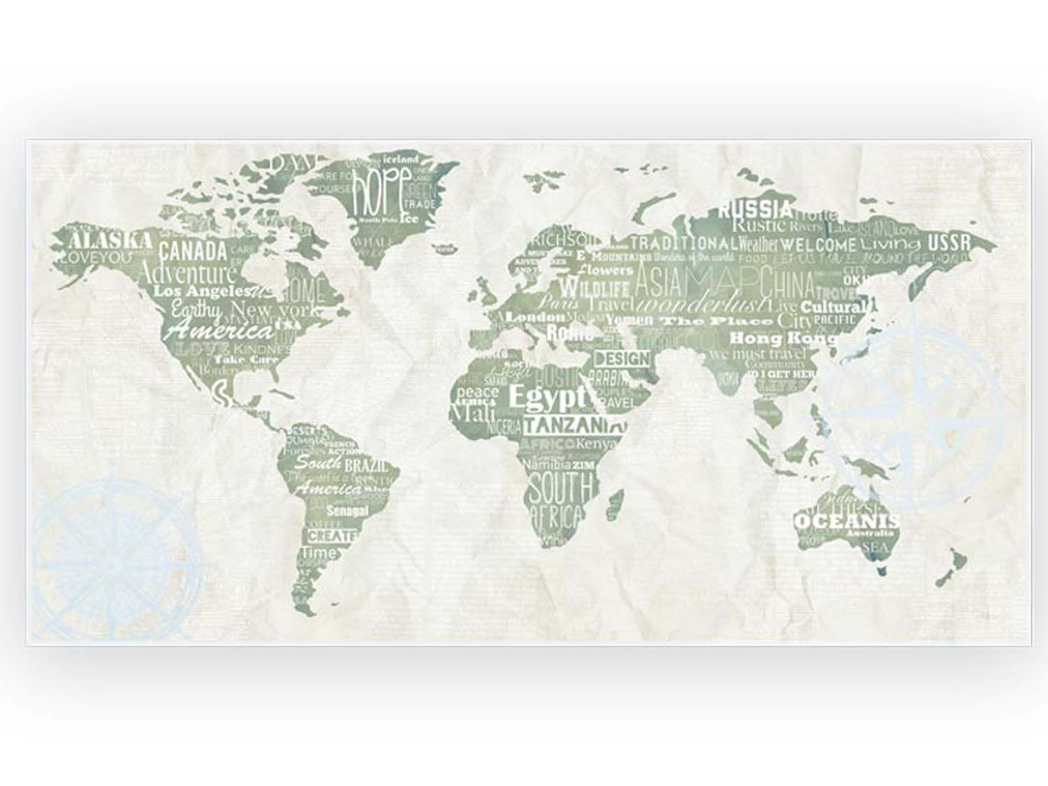 Picture of: World Map Ceramic Spotter 300 X 600mm