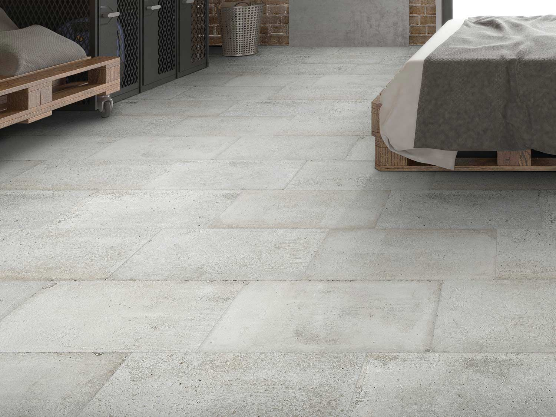 Kilimanjaro Lagos Cement Matt Porcelain Floor Tile 420 X 635mm