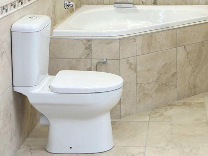 Betta Iqwa White Dual Top Flush Toilet Suite - Incl. Seat