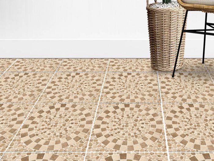 Ariza Beige Matt Ceramic Floor Tile - 565 x 565mm