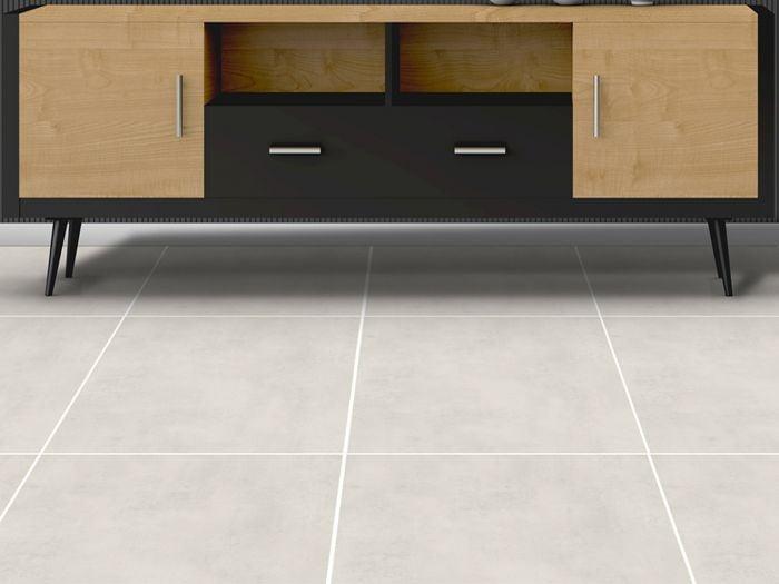 Laos Perla Grey Matt Ceramic Floor Tile - 565 x 565mm