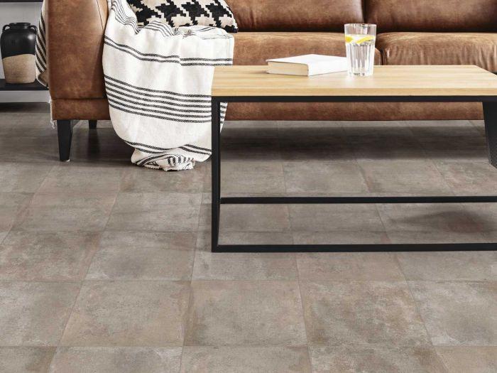 Casale Taupe EcoTec Matt Ceramic Floor Tile - 350 x 350mm