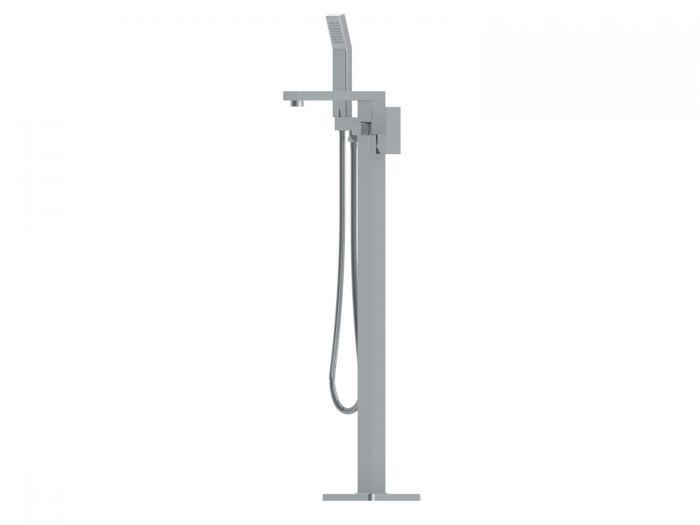 ITD Chrome Annatto Square Freestanding Bath Mixer