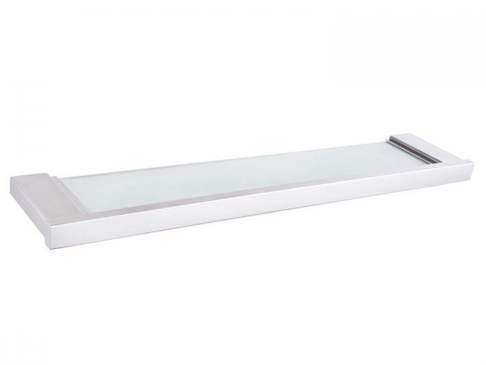 Portofino Marta Stainless Steel Glass Shelf