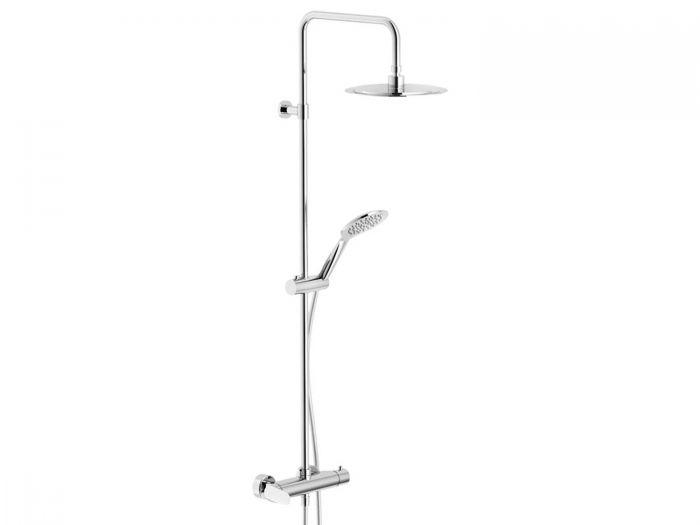 Tivoli Serina Chrome Exposed Shower Mixer Tap Column