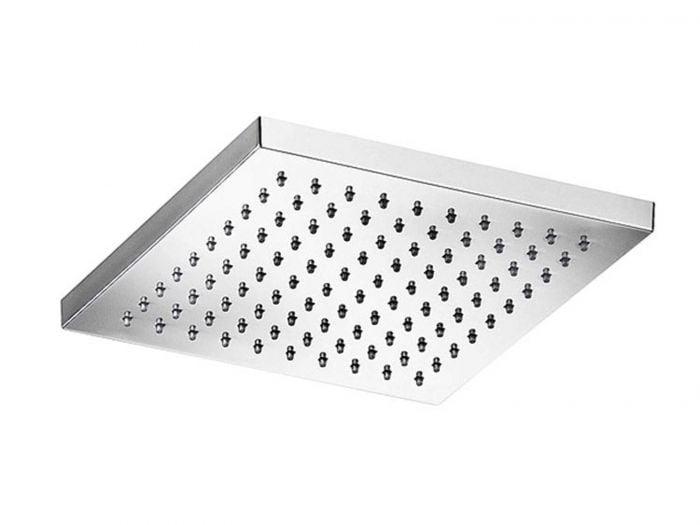 Tivoli Chrome Square 200mm Shower Head