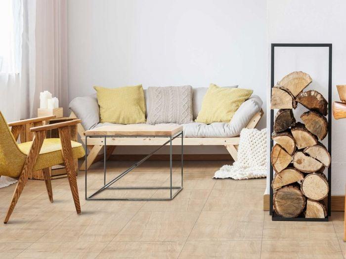 Kilimanjaro Moremi Ivory EcoTec Matt Porcelain Floor Tile - 420 x 420mm