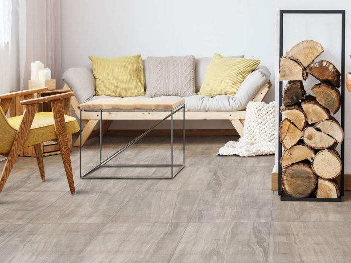 Kilimanjaro Moremi Grey EcoTec Matt Porcelain Floor Tile - 420 x 420mm