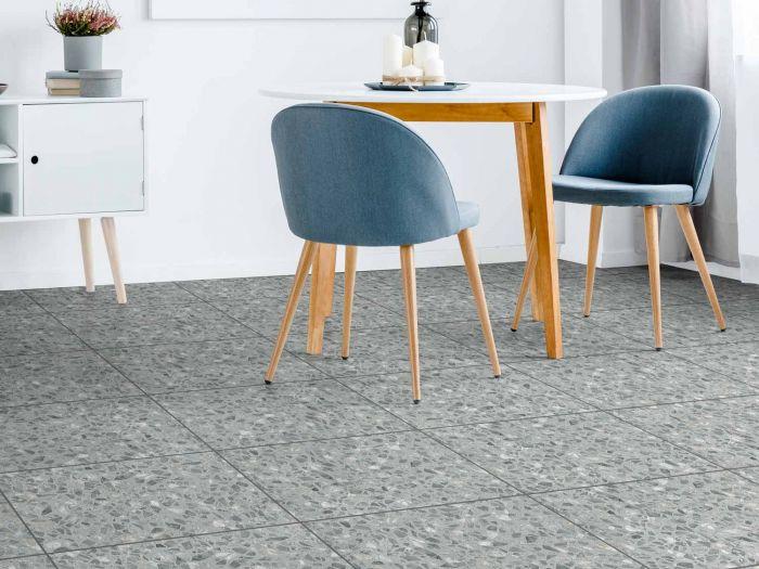 Kilimanjaro Terrazzo Matt Porcelain Floor Tile - 420 x 635mm